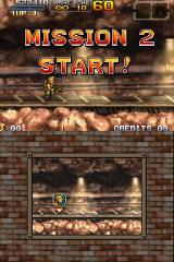 Metal Slug 7 Nintendo DS Starting at mission 2