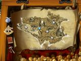 Captain Morgane and the Golden Turtle Windows Map used for travelling