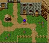 Megami Tensei Gaiden: Last Bible III SNES In the home village