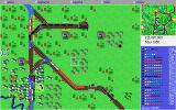 Sid Meier's Railroad Tycoon Deluxe DOS Lots of traffic in the middle of the 20th century