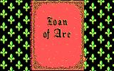 Joan of Arc: Siege & the Sword DOS Title 2 (CGA)