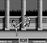 Raging Fighter Game Boy High kick