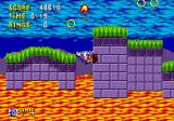 Sonic the Hedgehog Genesis Hot lava.