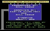 Bounty Bob Strikes Back! Commodore 64 Title screen