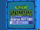 Dexter's Laboratory: Science Ain't Fair Windows After all the developer and publisher logos have been displayed the player gets to see the game's title screen