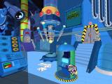 Dexter's Laboratory: Science Ain't Fair Windows The bump on the floor opens the Diversionary Entertainment Centre and gives access to four mini games.