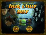 Bok Choy Boy iPad Start screen