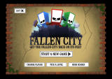 Fallen City Windows Main menu