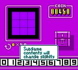 Wario Land II Game Boy Color After the fight with Captain Syrup expect  a change in mini-game rules