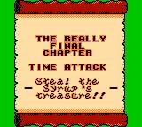 Wario Land II Game Boy Color Entering the really final chapter