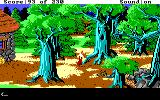 King's Quest IV: The Perils of Rosella DOS AGI: The creepy forest