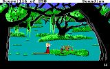 King's Quest IV: The Perils of Rosella DOS AGI: Charming the snake