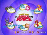 Looney Tunes: Space Race Dreamcast Game options