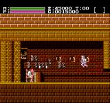 Faxanadu NES Keymaster. Give me your key, or I'll... jump on you!