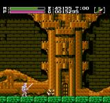Faxanadu NES Tower entrance. Pesky spiky guy on the ground