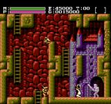 Faxanadu NES Ominous castle entrance