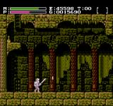 Faxanadu NES Mysterious palace. I've just defeated an enemy and got some money