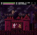 Faxanadu NES Environments get darker and darker as the game advances
