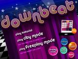 Downbeat Windows Main menu