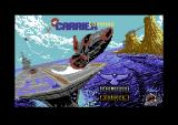 Carrier Command Commodore 64 Loading screen