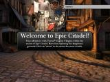 Epic Citadel iPad Game start