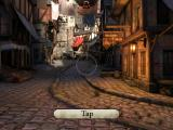 Epic Citadel iPad Control by tapping the ground and walk to that point