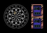 Jocky Wilson's Darts Challenge Commodore 64 Try to line up the dart.