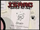 The Binding of Isaac: Wrath of the Lamb Windows The new main menu