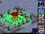 Command & Conquer: Yuri's Revenge Windows Nuclear strike on well guarded Psychic Dominator.