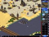 Command & Conquer: Yuri's Revenge Windows Chronoshifting six of Yuri's battle tanks right into the water.