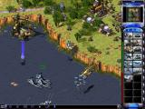 Command & Conquer: Yuri's Revenge Windows Yuri's forces are using Magnetrons to levitate allied ships out of the water.