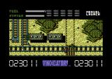 The Vindicator! Commodore 64 Blast the enemy and destroy buildings.