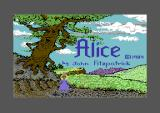Alice In Videoland Commodore 64 Title screen.