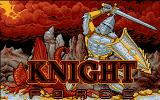 Knight Force DOS Title Screen (VGA).