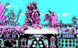 Knight Force DOS The Game Begins (CGA).