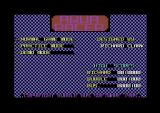 Aqua Racer Commodore 64 Title screen.