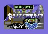 Automan Commodore 64 Loading screen.
