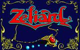 Zeliard Sharp X1 Title screen