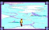 Conquests of Camelot: The Search for the Grail DOS Crossing the icy lake... Watch out thin spots in the ice