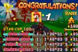 Mario Kart: Super Circuit Game Boy Advance Rating your performance after the completion of a cup. Your rank depends, among others, on the number of points scored and the number of coins you've collected.