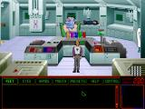 Space Quest 6: Roger Wilco in the Spinal Frontier DOS Sick bay.