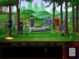 Space Quest 6: Roger Wilco in the Spinal Frontier DOS Stella's funeral. She's dead... Or is she?