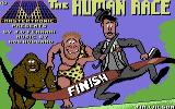 The Human Race Commodore 64 The title screen