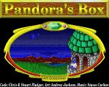 Pandora's Box Acorn 32-bit Title screen