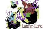 Lancer Lords Commodore 64 The title screen