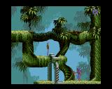 Flashback: The Quest for Identity Amiga Level 1 - Enemy below.