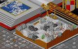 Populous Amiga Icy waste land.