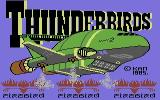 Thunderbirds Commodore 64 The title screen