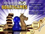 Astraware Boardgames BlackBerry Title screen