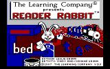 Reader Rabbit DOS Title screen version 3.0 (Tandy)